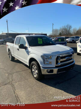 2015 Ford F-150 for sale at Paris Auto Sales & Service in Big Rapids MI