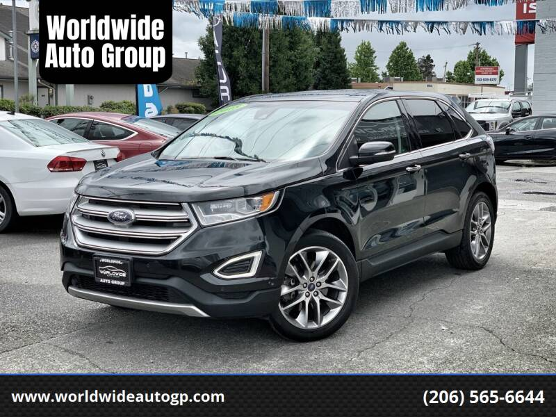 2015 Ford Edge for sale at Worldwide Auto Group in Auburn WA