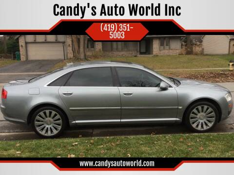 2006 Audi A8 L for sale at Candy's Auto World Inc in Toledo OH