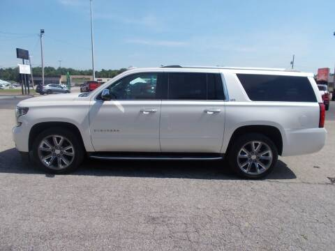 2015 Chevrolet Suburban for sale at West TN Automotive in Dresden TN