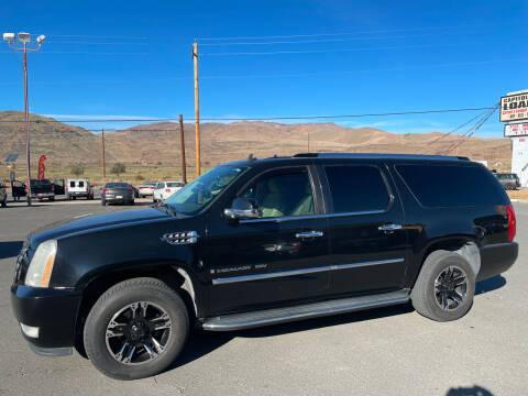 2007 Cadillac Escalade ESV for sale at Super Sport Motors LLC in Carson City NV