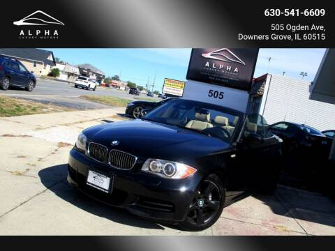 2008 BMW 1 Series for sale at Alpha Luxury Motors in Downers Grove IL