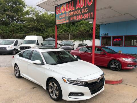 2018 Honda Accord for sale at Global Auto Sales and Service in Nashville TN
