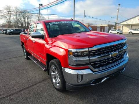 2017 Chevrolet Silverado 1500 for sale at LeMond's Chevrolet Chrysler in Fairfield IL