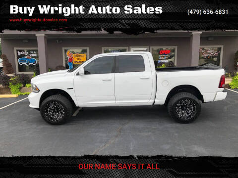 2013 RAM Ram Pickup 1500 for sale at Buy Wright Auto Sales in Rogers AR