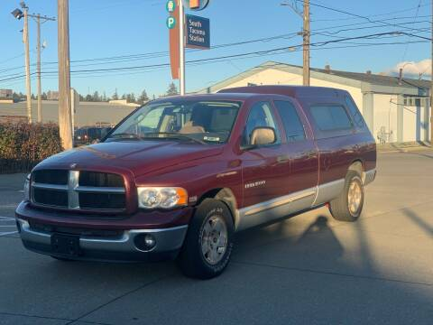 2003 Dodge Ram Pickup 1500 for sale at South Tacoma Motors Inc in Tacoma WA