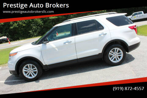 2013 Ford Explorer for sale at Prestige Auto Brokers in Raleigh NC