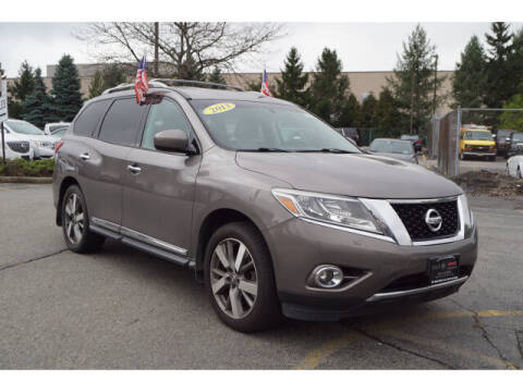 2013 Nissan Pathfinder for sale at Classified pre-owned cars of New Jersey in Mahwah NJ