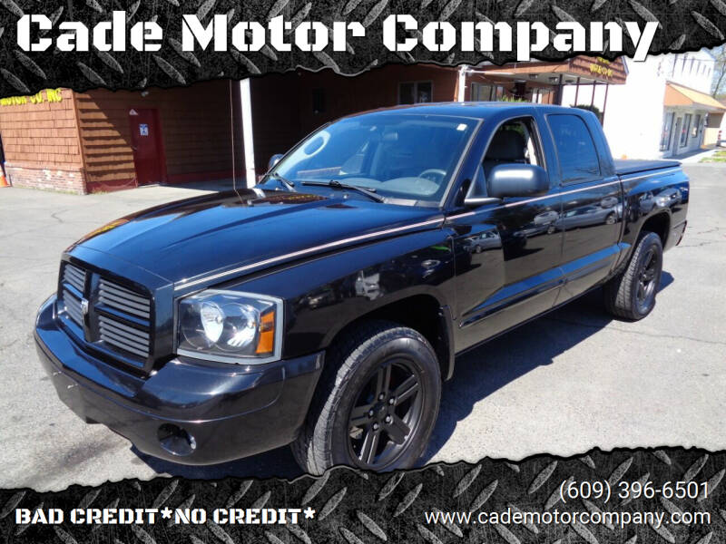 2007 Dodge Dakota for sale at Cade Motor Company in Lawrenceville NJ