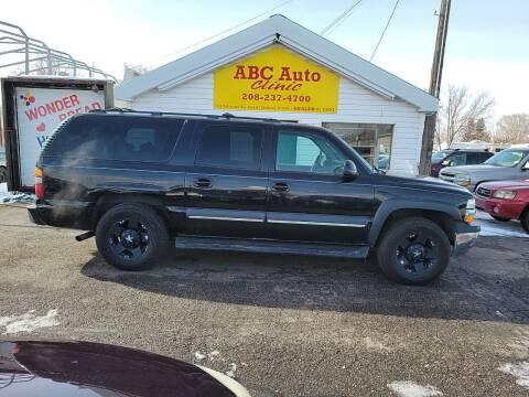 2002 Chevrolet Suburban for sale at ABC AUTO CLINIC - Chubbuck in Chubbuck ID