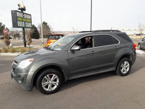 2013 Chevrolet Equinox for sale at More-Skinny Used Cars in Pueblo CO