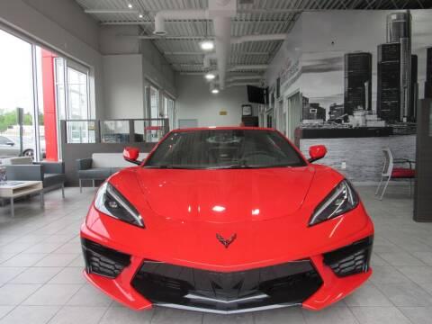 2020 Chevrolet Corvette for sale at Twins Auto Sales Inc in Detroit MI