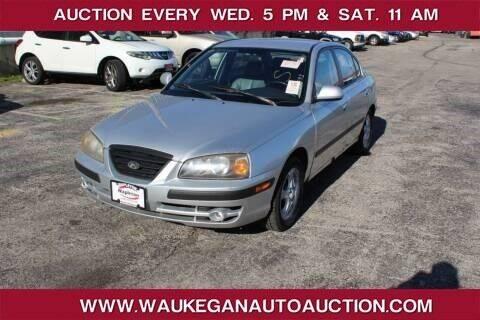 2004 Hyundai Elantra for sale at Waukegan Auto Auction in Waukegan IL