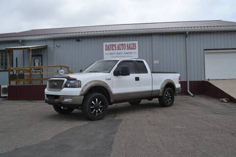 2004 Ford F-150 for sale at Dave's Auto Sales in Winthrop MN