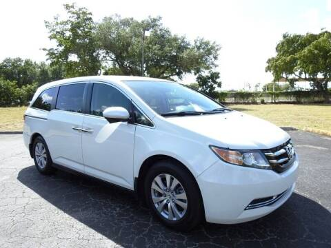 2016 Honda Odyssey for sale at SUPER DEAL MOTORS 441 in Hollywood FL