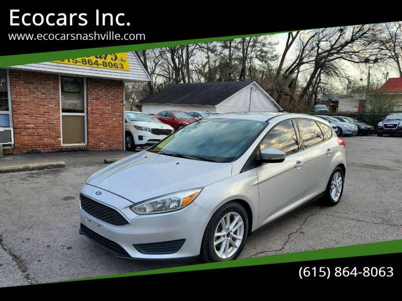 2015 Ford Focus for sale at Ecocars Inc. in Nashville TN