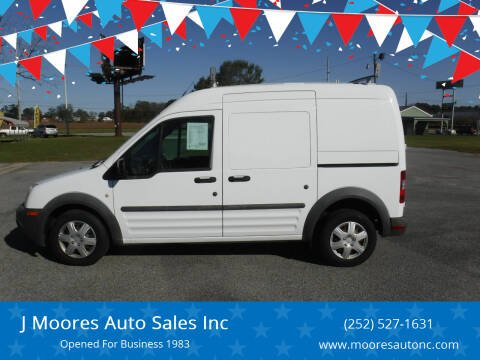 2012 Ford Transit Connect for sale at J Moores Auto Sales Inc in Kinston NC