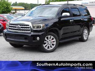 2012 Toyota Sequoia for sale at Used Imports Auto - Southern Auto Imports in Stone Mountain GA