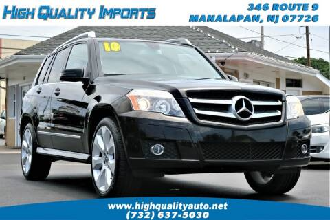 2010 Mercedes-Benz GLK for sale at High Quality Imports in Manalapan NJ
