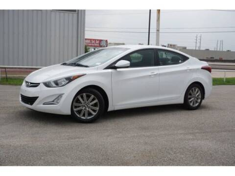2015 Hyundai Elantra for sale at FREDY KIA USED CARS in Houston TX