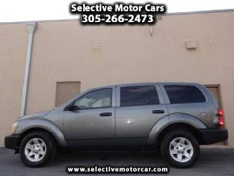 2005 Dodge Durango for sale at Selective Motor Cars in Miami FL