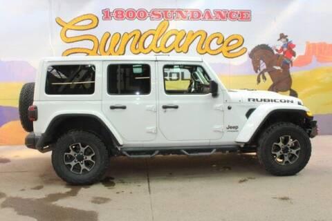 2019 Jeep Wrangler Unlimited for sale at Sundance Chevrolet in Grand Ledge MI