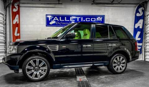 2008 Land Rover Range Rover Sport for sale at Falleti Motors, Inc.  est. 1976 in Batavia NY