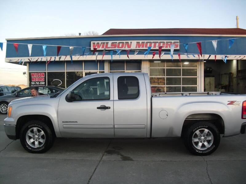 2013 GMC Sierra 1500 for sale at Wilson Motors in Junction City KS