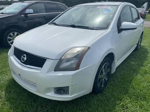 2012 Nissan Sentra for sale at Krifer Auto LLC in Sarasota FL