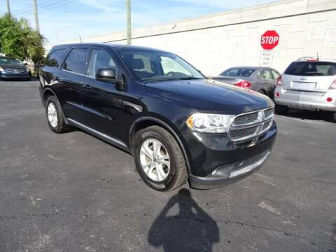 2013 Dodge Durango for sale at DONNY MILLS AUTO SALES in Largo FL