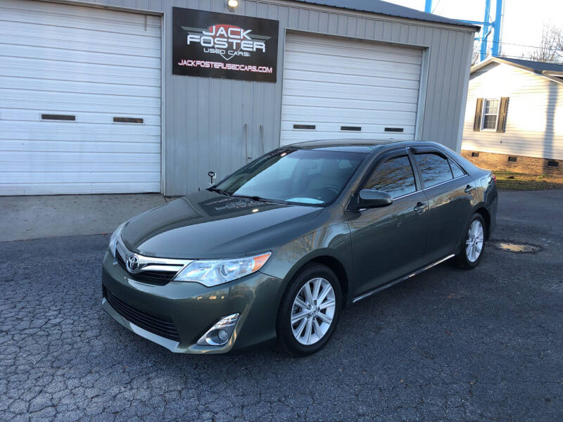 2014 Toyota Camry for sale at Jack Foster Used Cars LLC in Honea Path SC