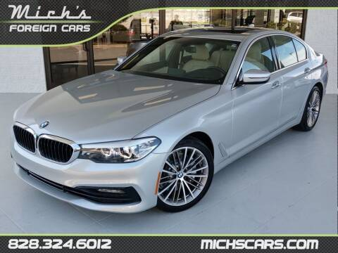 2017 BMW 5 Series for sale at Mich's Foreign Cars in Hickory NC
