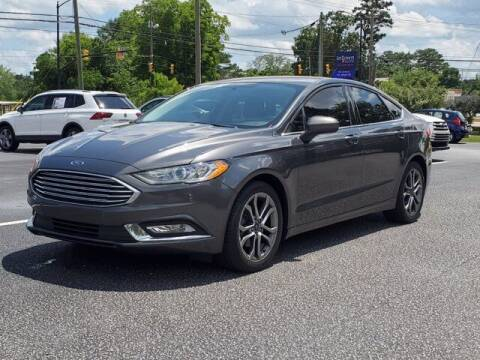 2017 Ford Fusion for sale at Gentry & Ware Motor Co. in Opelika AL