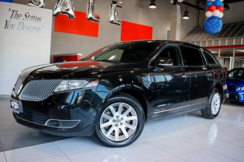 2015 Lincoln MKT Town Car for sale at Quality Auto Center in Springfield NJ