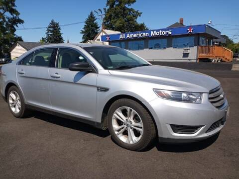2015 Ford Taurus for sale at All American Motors in Tacoma WA