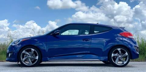 2017 Hyundai Veloster for sale at Palmer Auto Sales in Rosenberg TX