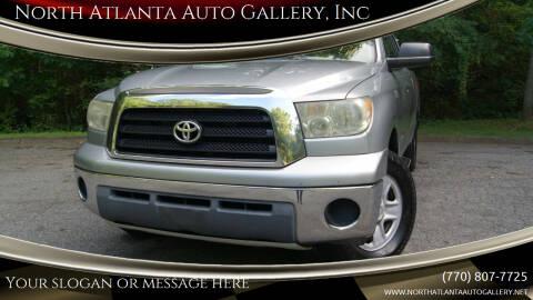 2007 Toyota Tundra for sale at North Atlanta Auto Gallery, Inc in Alpharetta GA