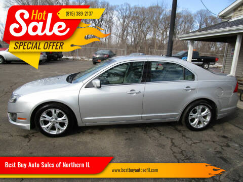 2012 Ford Fusion for sale at Best Buy Auto Sales of Northern IL in South Beloit IL