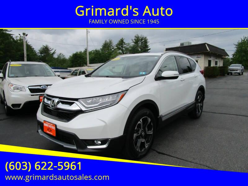2019 Honda CR-V for sale at Grimard's Auto in Hooksett NH