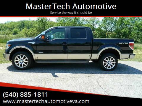 2014 Ford F-150 for sale at MasterTech Automotive in Staunton VA