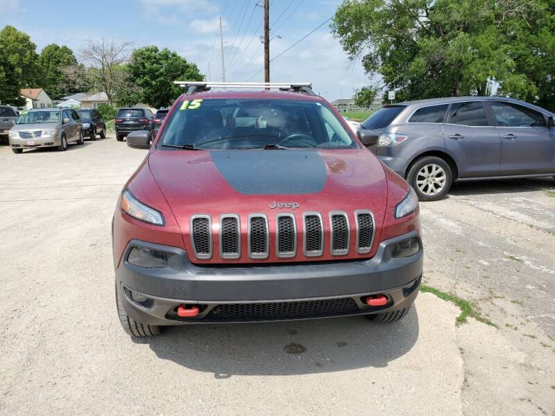 2015 Jeep Cherokee for sale at Buena Vista Auto Sales in Storm Lake IA