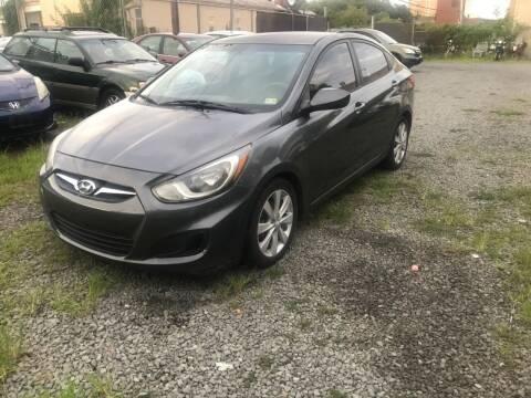 2012 Hyundai Accent for sale at A & B Auto Finance Company in Alexandria VA