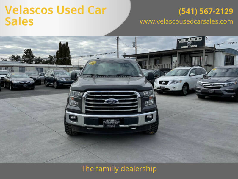 2017 Ford F-150 for sale at Velascos Used Car Sales in Hermiston OR