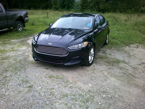 2015 Ford Fusion for sale at WEINLE MOTORSPORTS in Cleves OH