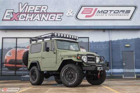 1974 Toyota Land Cruiser for sale at BJ Motors in Tomball TX
