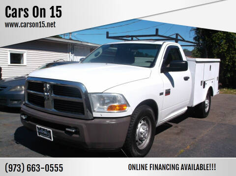 2011 RAM Ram Chassis 2500 for sale at Cars On 15 in Lake Hopatcong NJ