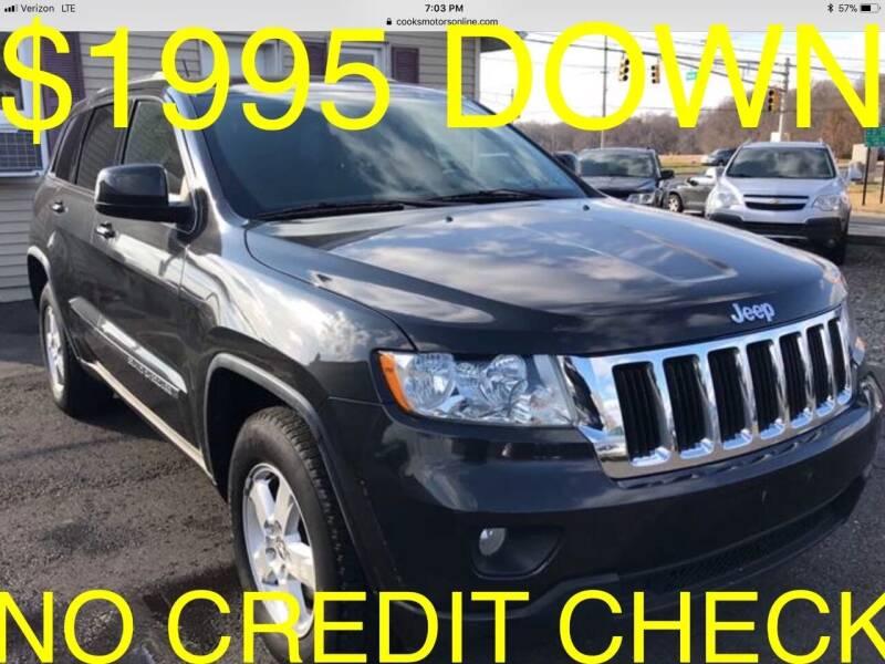 2011 Jeep Grand Cherokee for sale at Cooks Motors in Westampton NJ