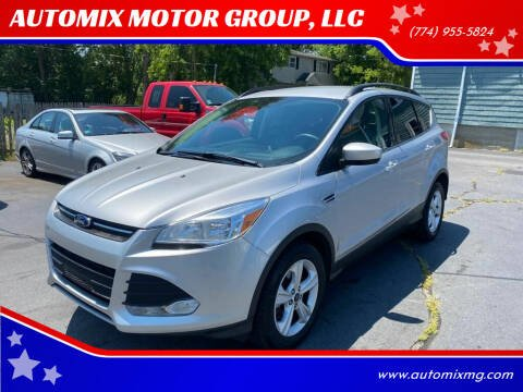 2016 Ford Escape for sale at AUTOMIX MOTOR GROUP, LLC in Swansea MA