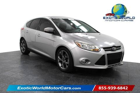 2014 Ford Focus for sale at Exotic World Motor Cars in Addison TX