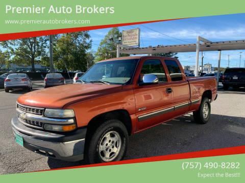 2001 Chevrolet Silverado 1500 for sale at Premier Auto Brokers in Virginia Beach VA